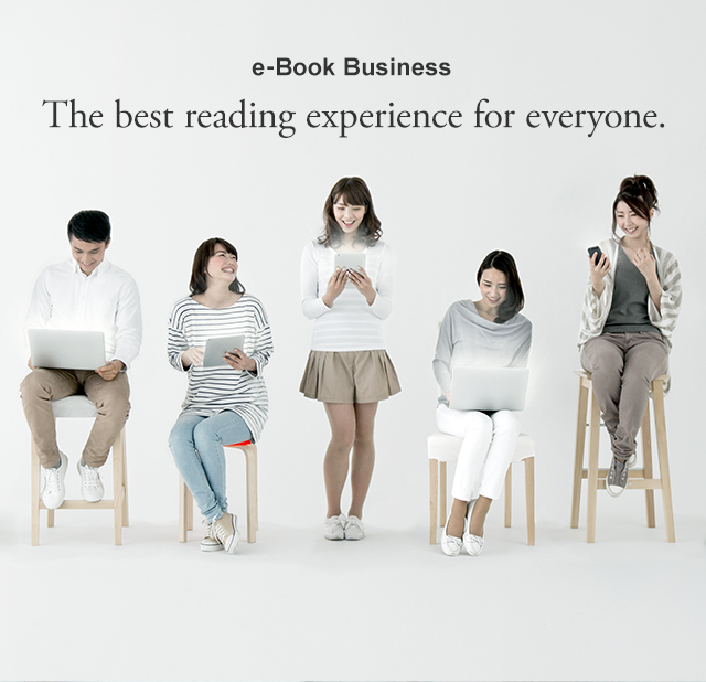 e-Book Business The best reading experience for everyone.