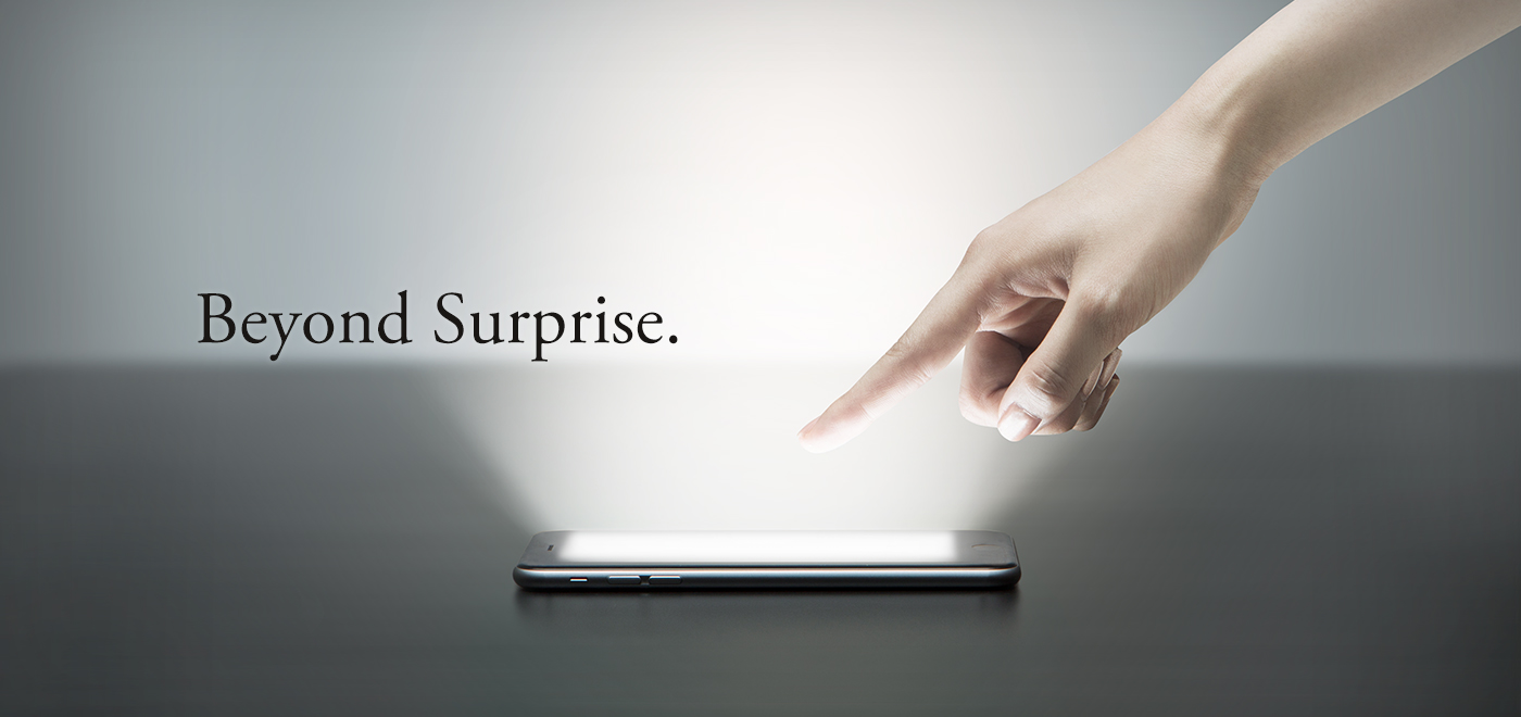 New Surprising. New surprises for all customers.