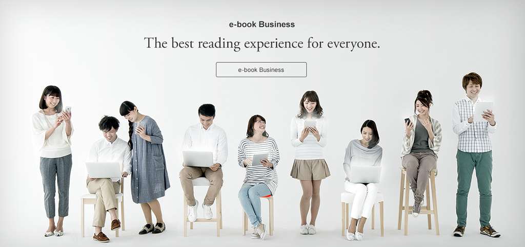 e-Book Service The best reading experience for everyone. e-Book Service