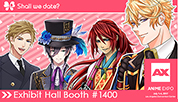 NTT Solmare's Shall we date? and Moe! Ninja Girls attend Anime Expo 2017 in Los Angeles For All the People Who Wish to Find the Dream Lover!
