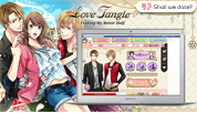 """Shall we date?: Love Tangle+ is available on Facebook.Join the luxurious celebrity life, and pursue aspiring dreams with your true love!"